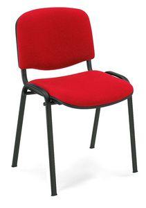 UF 100, Chaise en métal, rembourré, pour salle de conférence