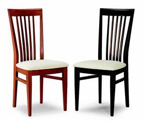17 Teresina, Chaise à manger en bois