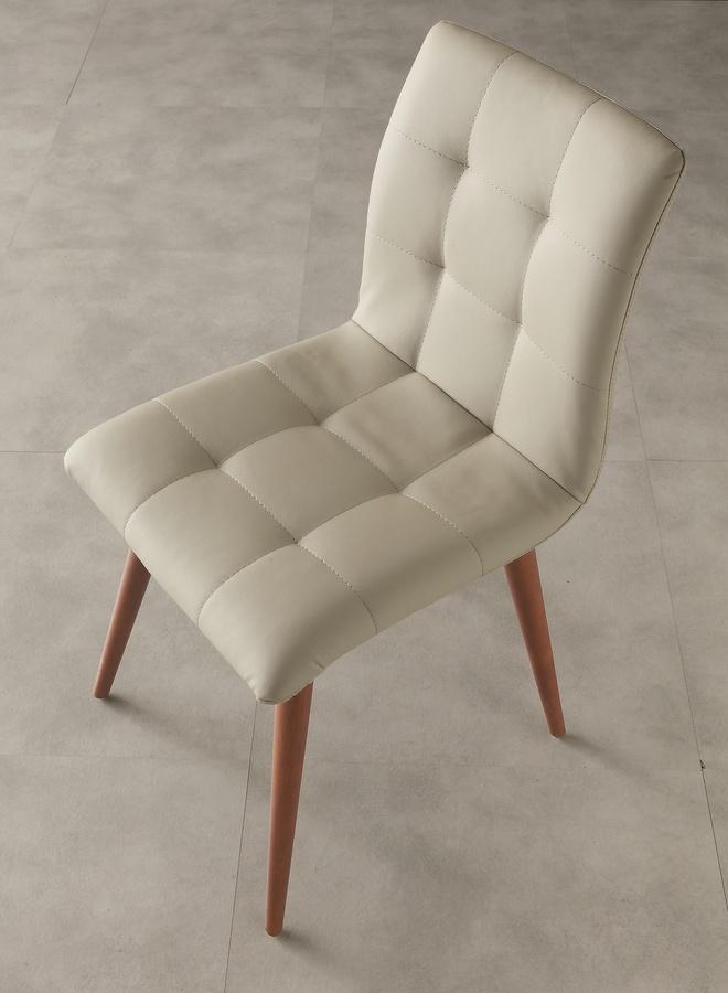 Art. 130 Finland, Salle à manger chaise, recouvert de faux cuir, élégant