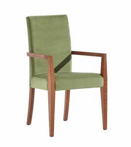 C03P, Chaise moderne avec accoudoirs