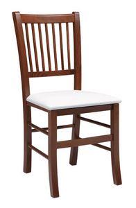 SE 430, Chaise avec dossier à lattes verticales, pour les restaurants
