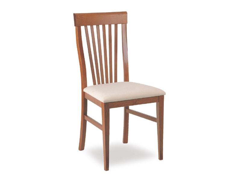 SE 453, Chaise rembourrée en bois avec des lattes verticales, pour les hôtels
