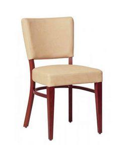 302, Salle à manger chaise avec structure en hêtre, pour séjour