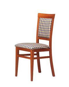 313, Salle à manger chaise, en hêtre, pour la glace salon