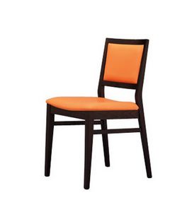 330 I, Chaise en hêtre, rembourrée, pour les hôtels