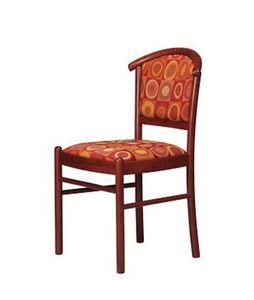 407 3/4, Hêtre rembourré chaise, pour salle de conférence et un bar