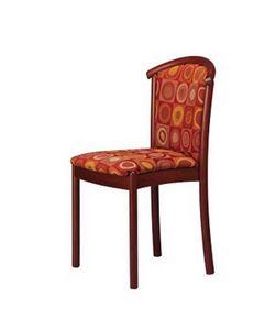 407 STK, Salle à manger chaise, hêtre, rembourrée, pour les hôtels