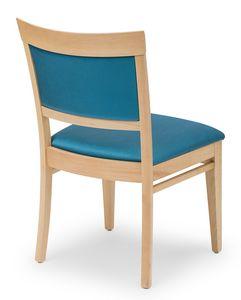 Anna XL, Chaise rembourrée pour les hôtels