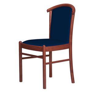 C09, Chaise avec socle en bois, rembourré, pour des hôtels et restaurants