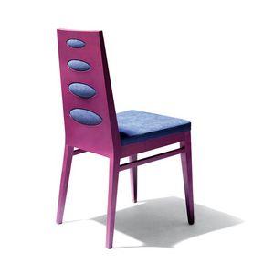 D01, Chaire en bois de hêtre, assise, pour l'usage de contrat