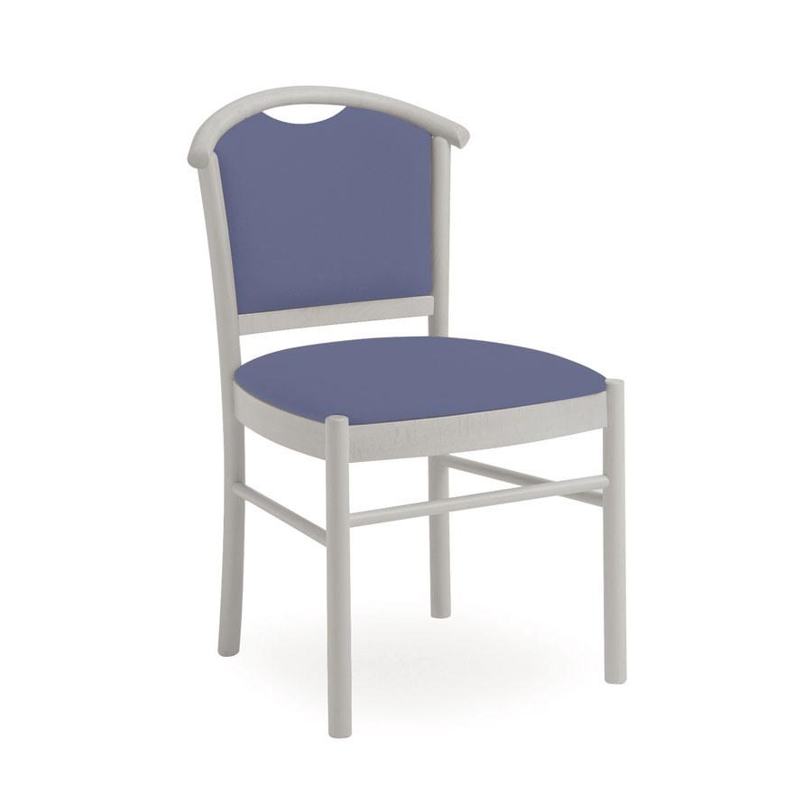 Dolly L1047 M, Chaise en bois, confortable et pratique, pour le restaurant