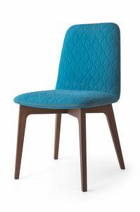 Ellie, Chaise moderne en bois de hêtre, des restaurants et cantines