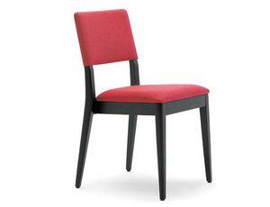 Lexi-PI, Chaise empilable en bois