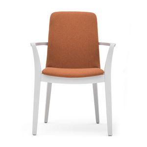 Light 03221, Chaise en bois avec des bras, solide et durable