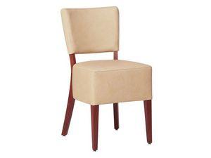 Marsiglia/S/1, Chaise de salle à manger rembourrée pour les restaurants