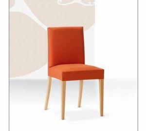 Relax, Chaise en hêtre avec assise et dossier rembourrés