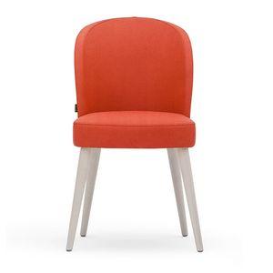 Rose 03011, Chaise en mousse, avec jambes tournées et ceinture de sécurité