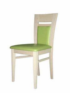 Susy IMB, Chaise en bois, dans un style moderne pour une utilisation du contrat