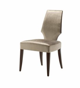 Vendome chaise, Chaise à dossier haut pour restaurant
