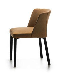 Virginia 4L, Chaise solide et douce, faite dans le style essentiel