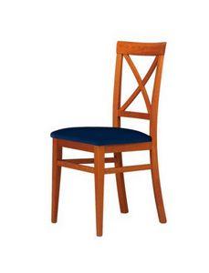 C06, Chaire en bois de hêtre pour le contrat et l'usage domestique
