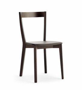 Gioy, Chaise en hêtre et frêne, pour les bars et restaurants