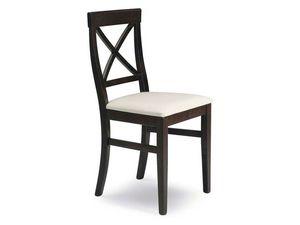 Jessy, Chaise avec siège rembourré, pour un bar à vin et un restaurant
