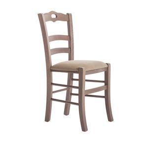 RP42C, Chaise en bois avec assise personnalisable