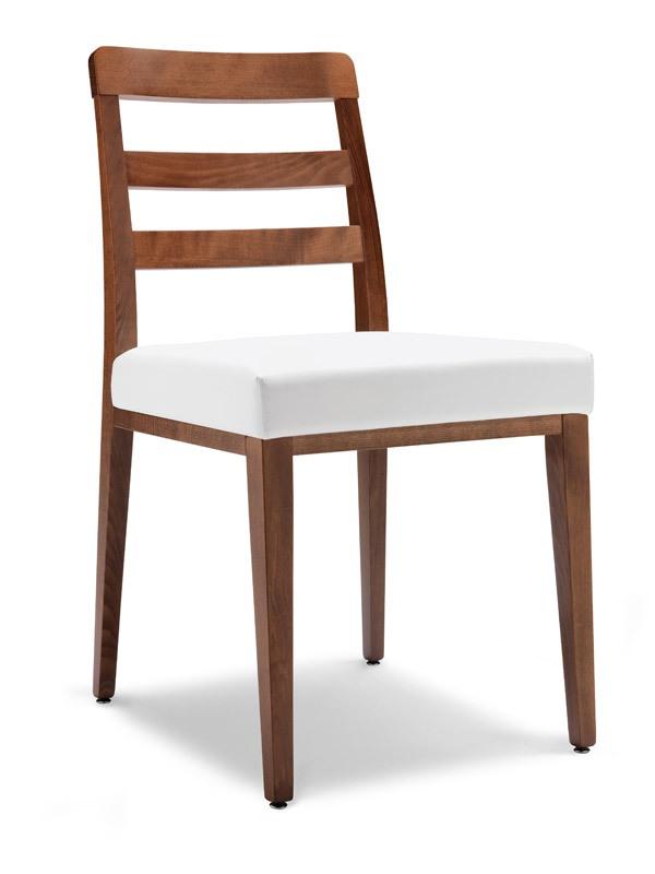 SE 49 / F, Salle à manger chaise, dossier à lattes horizontales, pour les bars