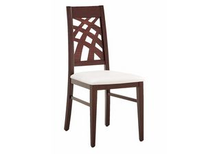SE 490 / D, Chaise, linéaire, en bois, pour les séjours