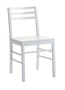 Us Foggia, Chaise en bois pour la cuisine, chaise moderne pour la maison