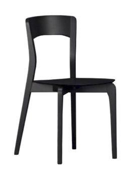 Us Isotta, Chaise en bois pour la cuisine, chaise moderne pour bar