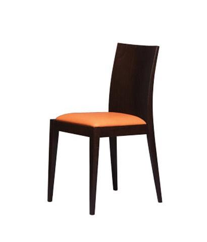 331, Chaise avec dossier en bois lisse, pour la boulangerie