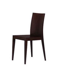 331 L, Linéaire salle à manger chaise, en hêtre, pour les bars