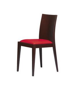 M07, Chaire en bois de hêtre, pour la vie élégante et barres