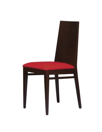 M11, Chaise avec structure en bois de hêtre, lambrissé de retour