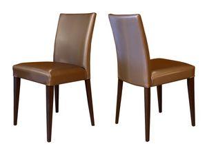 M18, Chaire en bois de hêtre, rembourré, pour bars et restaurants
