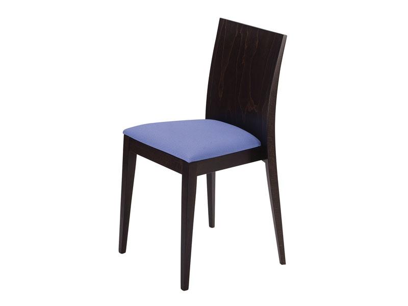 Masha/S/imb, Chaise empilable rembourrée, pour les bars et restaurants