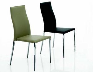 3021 Tai, Chaise en cuir moderne