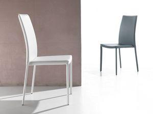 Art. 232 Vanity, Chaise rembourrée en PVC, pour la cuisine et la salle à manger