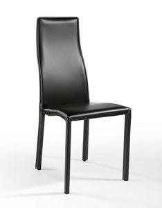 Cuba, Chaise moderne recouvert de cuir, léger, pour les bars