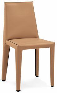 Dab chaise 10.0150, Chaises recouvertes de cuir