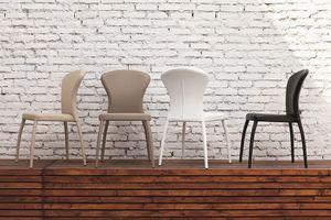 MONACO SE605, Chaise moderne pour les salles et les bars restaurants