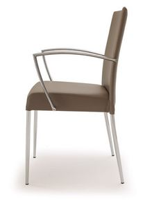 PL 621, Chaise en acier, recouvert de faux cuir, pour une utilisation du contrat