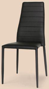 SE 620 ECO, Chaise en métal entièrement recouvert de cuir, pour les bars