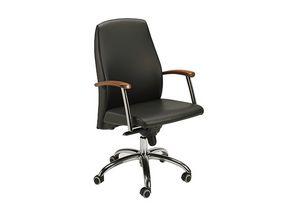 300DIR, Chaise en cuir pour bureau ex�cutif