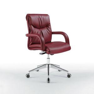 Angel bas, Chaise de bureau avec le bas du dos, sur roues