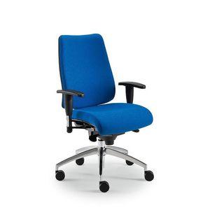 DD Dinamica executive 53712, Chaise de bureau avec roues et réglable en hauteur
