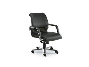 Elegance executive 2842, Fauteuil de direction de bureau en cuir