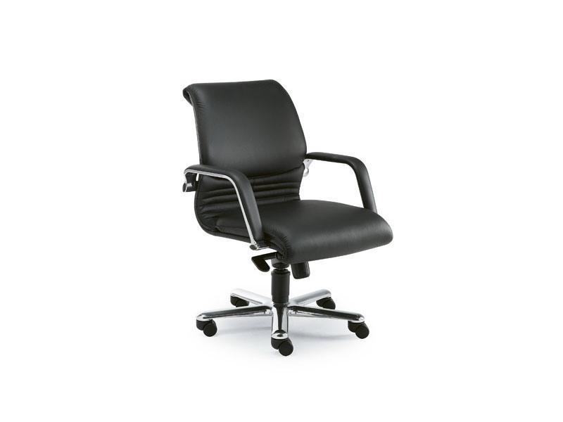 Elegance executive 2842, Fauteuil de direction de bureau en cuir